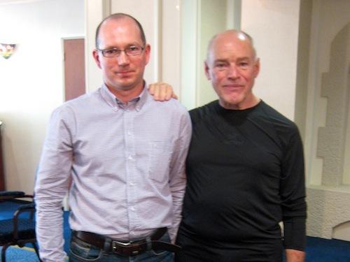 Bogdan Baraszkiewicz i Ken Schwaber w Amsterdamie, 2012