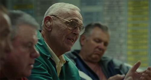 Scena ze skautami z filmu Moneyball
